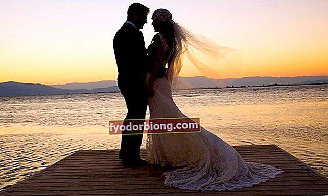 Bryllupsdag: Lær årene og navnene på festlighederne