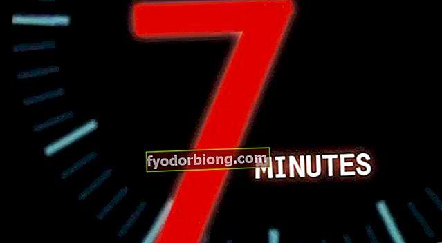 7 minučių treniruotė žada stebuklingų rezultatų