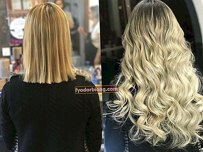 Mega juuksed - kuidas neid tehakse, tüübid, hooldus ja vajalik hooldus