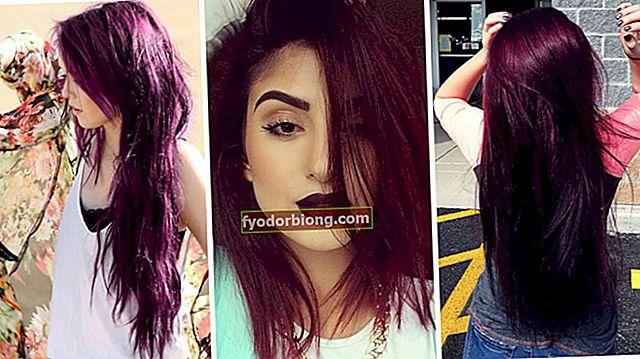 Marsala farve i hår - nuancer, hvordan man farver og plejer farvning