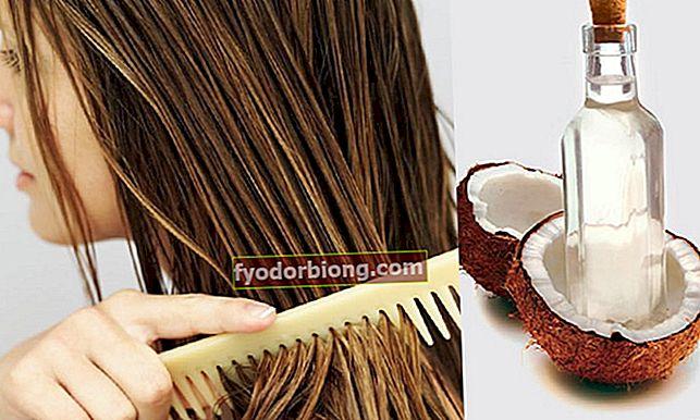 Sådan bruges kokosolie på hår