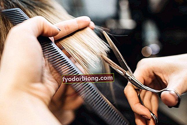 Kutt for langt hår - For å endre utseendet uten å forkorte håret