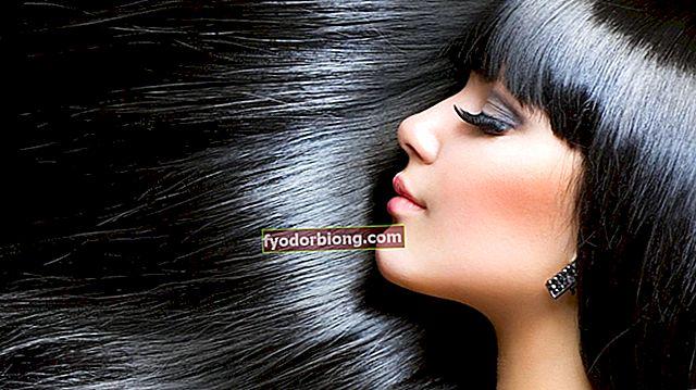Blåligt sort hår - Skygger, forskelle og pleje