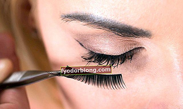 Sådan placeres falske øjenvipper i 5 trin