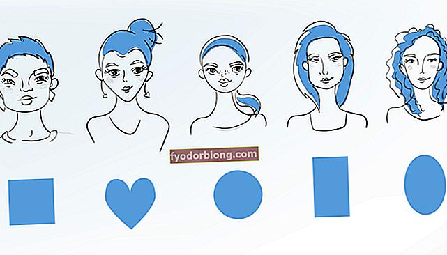 Hvad er formen på dit ansigt? Kan du identificere?