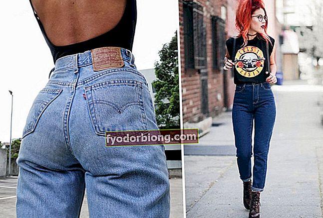 Mor jeans, hvordan man bruger og inspiration til det bedste udseende