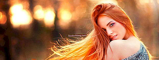 Rød hårfarve - Hvad det er, hvordan man anvender og forskel med farvning