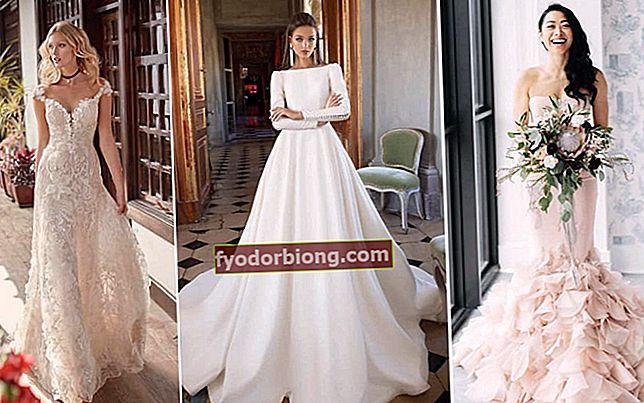 Brudekjole, modeller og trendstilarter i 2019