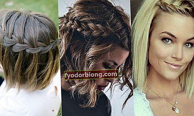 Frisyrer for kort hår, 22 vakre og enkle å gjøre alternativer