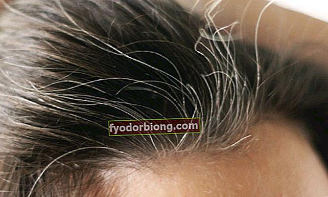 Hvordan forkle hvitt hår uten å måtte farge trådene