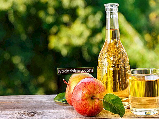 Æblecidereddike - Fordele, måder at bruge og hjemmelavet opskrift på