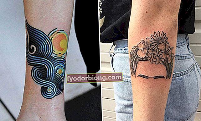 Feminin tatovering på armen, 57 inspirerende tatoveringsideer