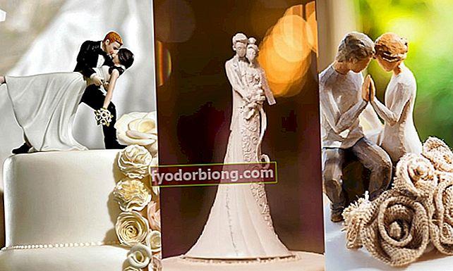 Γαμπροί γαμήλια τούρτα: 70 πρότυπα για να εμπνευστείτε