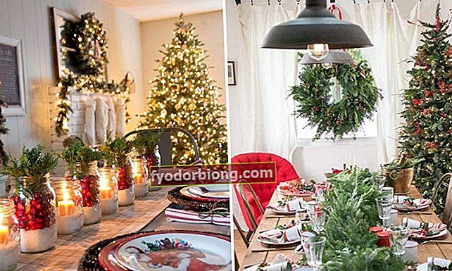 30 joulupöytäkuvaa inspiroimaan sinua