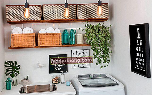 30 εικόνες για να σας εμπνεύσουν να διακοσμήσετε το δωμάτιο πλυντηρίων