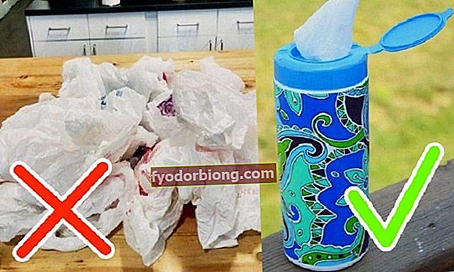 13 måder at opbevare plastposer på en organiseret måde