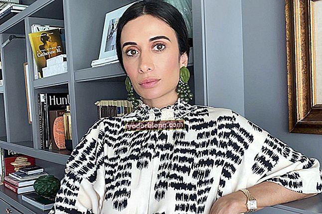 Silvia Braz, hvem er det? Biografi, projekt, familie og udseende af modebloggeren
