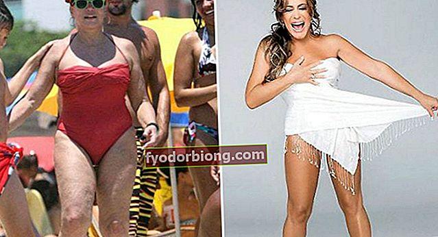 Før og efter 12 berømtheder redigeret i Photoshop