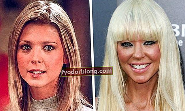 Før og efter nogle Hollywood-stjerner, efter 20 år