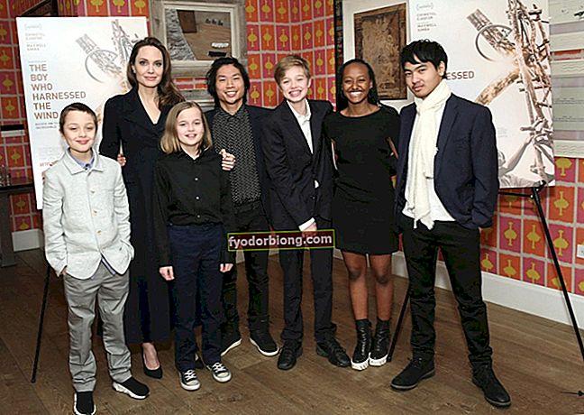 Děti Angeliny Jolie - Kdo je 6 dětí potomků Jolie-Pitt?