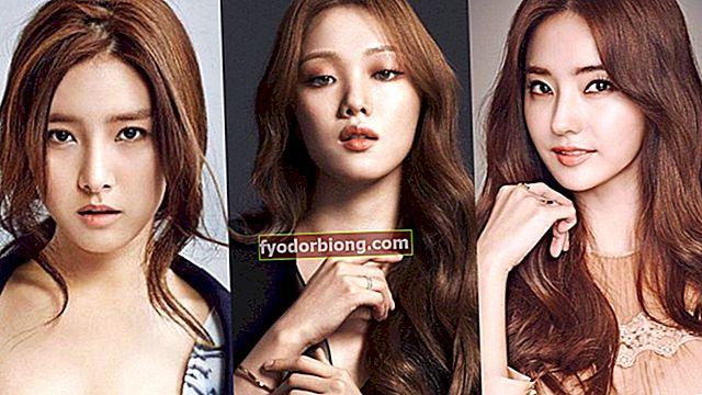 Koreanske skuespillerinder - Smukkeste og berømte kunstnere i landet