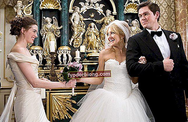 Vestuviniai filmai - 20 romantinių komedijų nominacijų