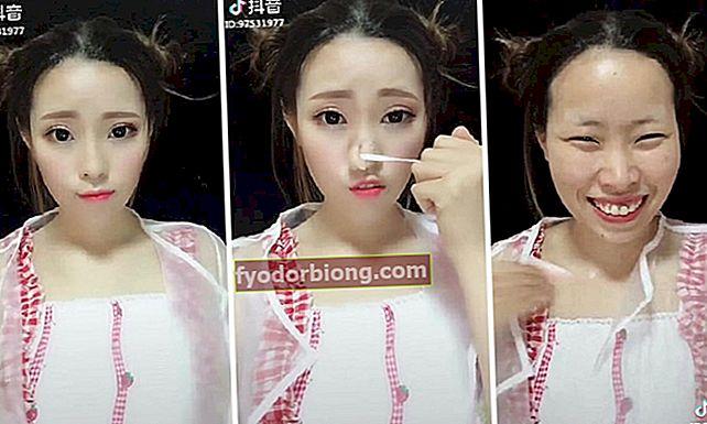 Asiatisk makeup: før og efter af dem er bare chokerende