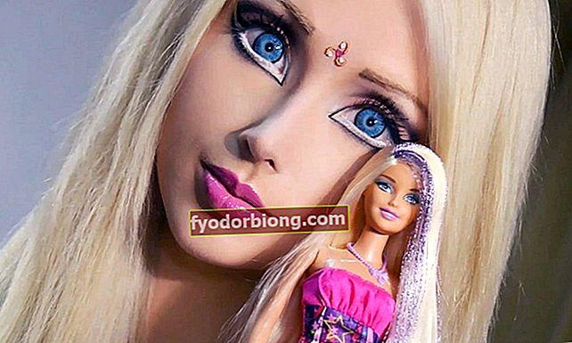 Billeder af menneskelig Barbie uden makeup viser, at lighed kun var tricks