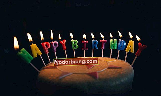 Fødselsdagsbeskeder for at lykønske specielle mennesker