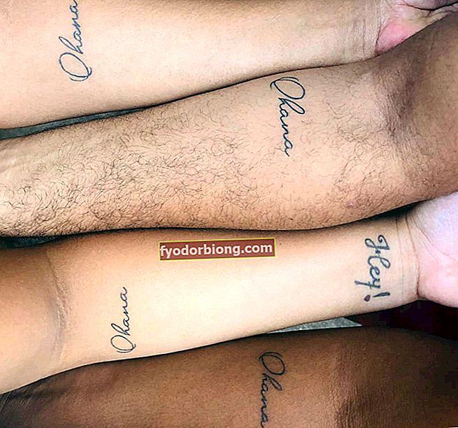 Ohana - Hvad det betyder + 30 billeder af tatoveringer for at blive inspireret