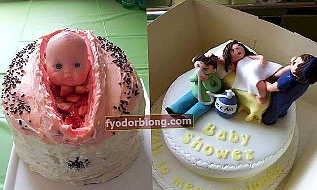 14 mest bizarre baby shower kager i verden