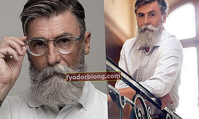 Mød manden blev en model i en alder af 60 år