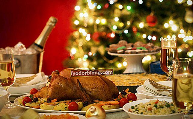 Julemad - Fuld menu, drinks og borddekorationstips