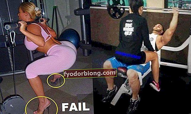De mest uklare billeder, der nogensinde er fanget i gymnastiksalen