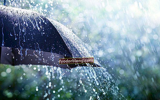 Drømmer om regn - Betydninger og mulige tolkninger