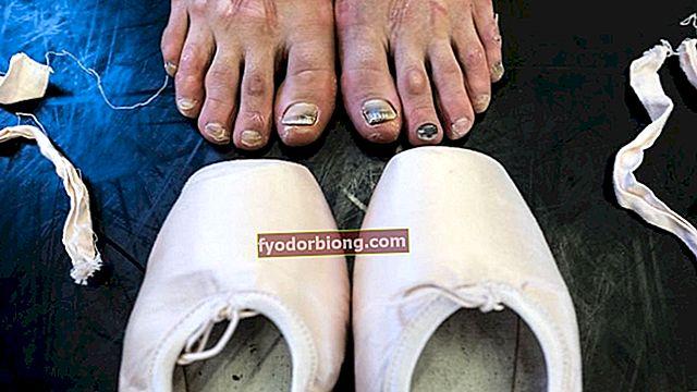 Ballerinas fødder imponerer i billeder taget bag kulisserne i ballet