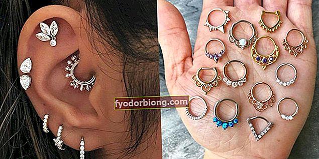 Ørepiercing - Ørepunkter, smerte, pleie, smykker, verdier