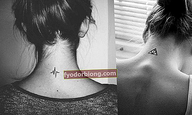 Tetování na zadní straně krku - 70 delikátních nápadů, které vás inspirují k tomu, abyste si udělali svůj