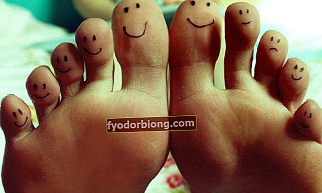 Typer af fødder: Find ud af hvad din er, og hvad den siger om dig