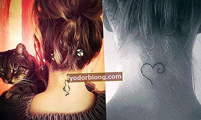 40 inspirationer til dem, der ønsker at få en tatovering på nakken