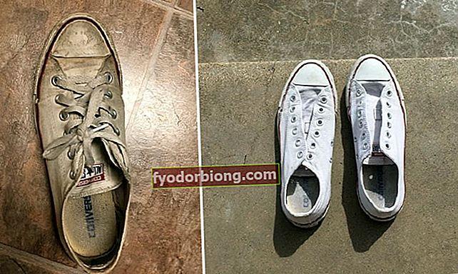 Sådan rengøres hvide sneakers og (efterlades hvide) uden blegemiddel