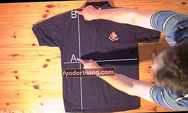 Lær at folde t-shirts på mindre end 5 sekunder