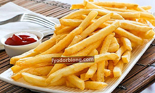 Sådan laver du sprøde pommes frites