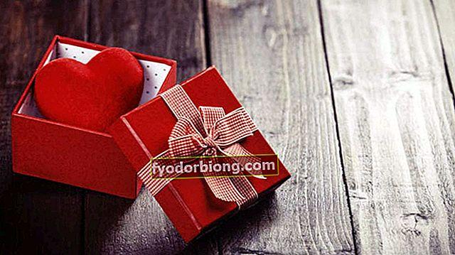 Valentinsdag - 10 innovative gaver til mozão