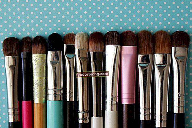 Eyeshadow Brush - Børstetyper til forskellige typer skygger
