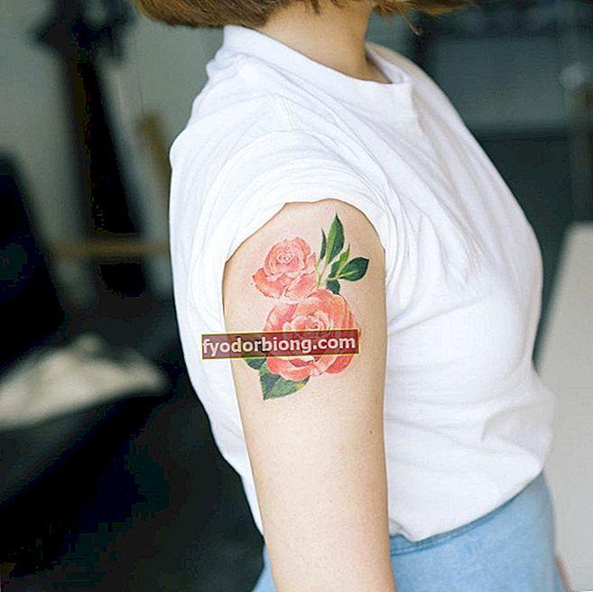 Ziedu tetovējums - 80 smalki un spēcīgi tetovējumi, lai jūs varētu iedvesmoties