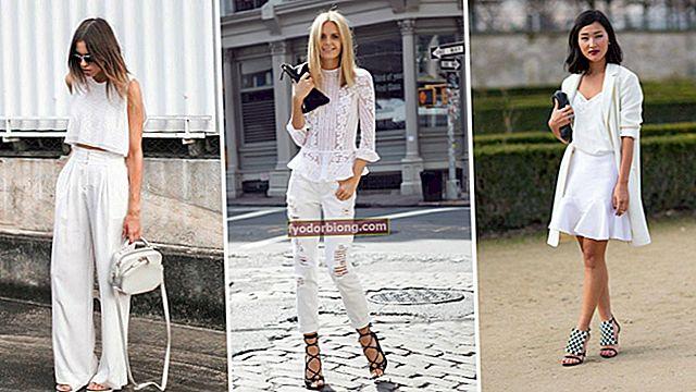 Hvidt tøj - Pleje, trends og tip til at bære dem hele året rundt