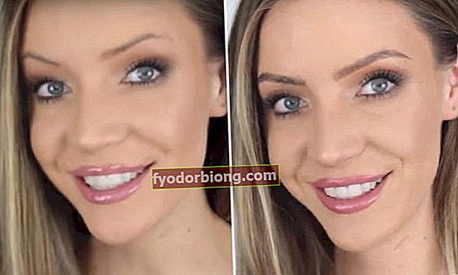 Sådan fyldes øjenbrynene med hårstrenge