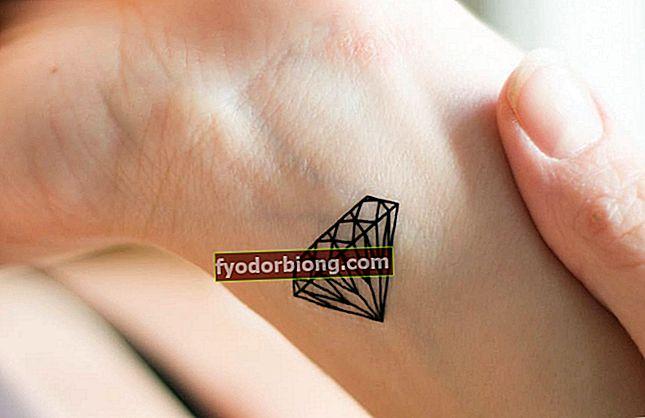Dimanta tetovējums, 80 idejas, lai jūs varētu iedvesmoties no tēmas