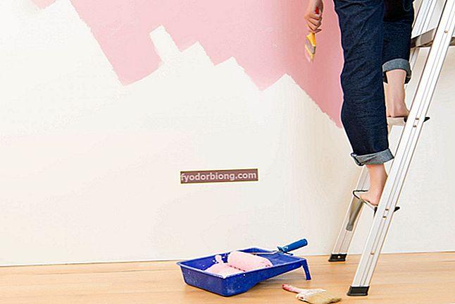 Sådan maler du en væg - hvad du har brug for og de 11 trin